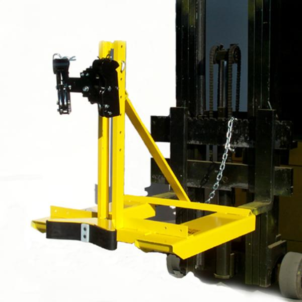 Eagle-Grip™ 2 Series - Lift Truck Attachment With Double Articulating Automatic Clamping Mechanism