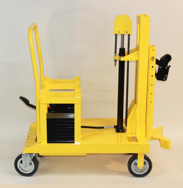 EasyLift Counterbalanced Drum Transporters for Drum Placement in Cabinets, Hot Boxes, or Under Piston Pumps