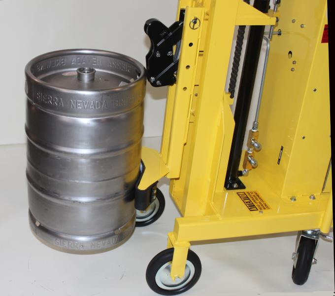 Cylinder Lifting Equipment : Custom handling equipment cylinder lifters keg