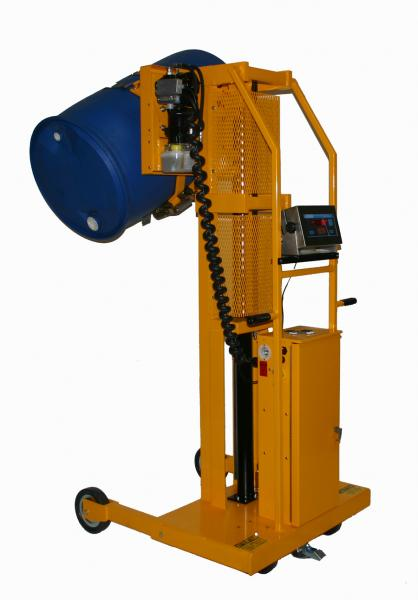 EasyLift AC & DC Powered Drum Dumpers for Non-Hazardous Areas