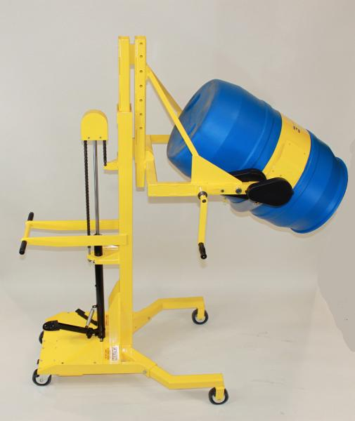 EasyLift Manual Clamp and Rotation Drum Dumpers - With Multiple Power Options