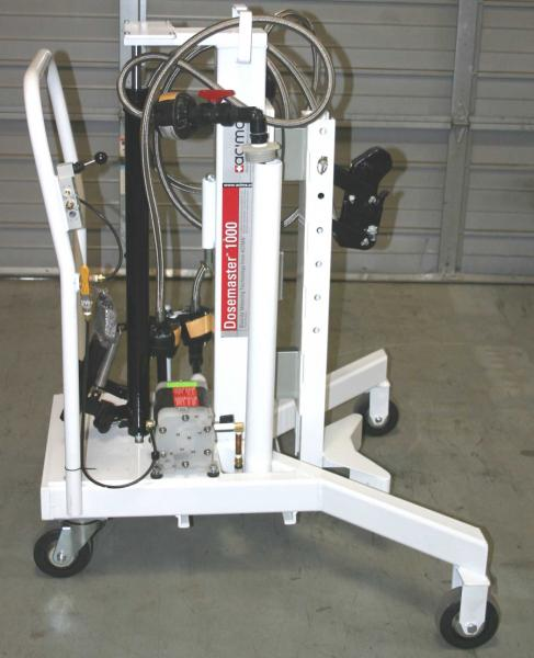 Dosemaster Drum Transporters with Scales & Air Pumps