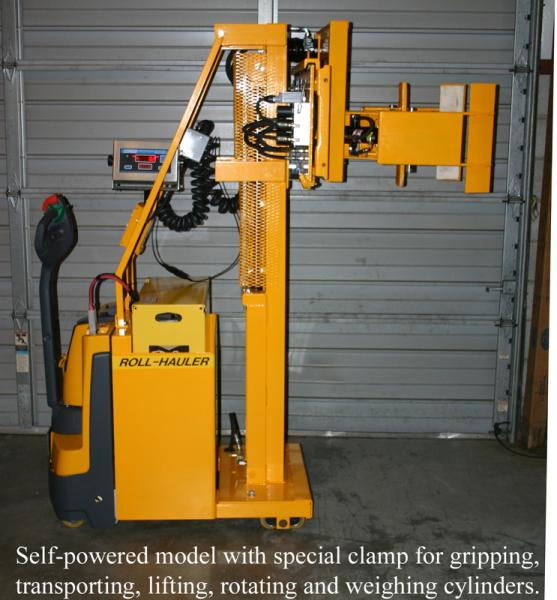 Cylinder Lifting Equipment : Cylinder handling equipment lift